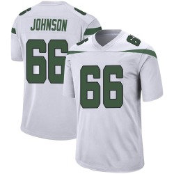 Nike Sterling Johnson New York Jets Youth Game Spotlight White Jersey