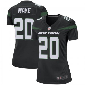 Nike Marcus Maye New York Jets Women's Game Stealth Black Jersey