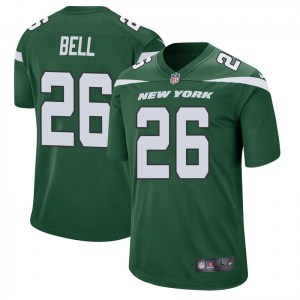 Nike Le'Veon Bell New York Jets Men's Game Gotham Green Jersey